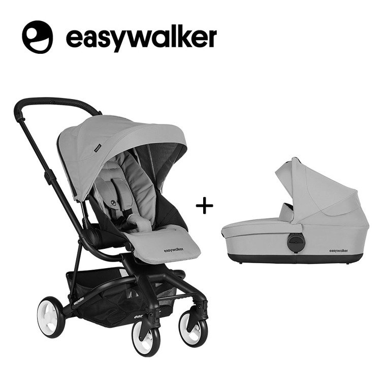 Easywalker Charley Wózek głęboko-spacerowy Cloud Grey