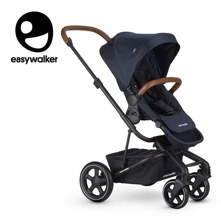 Easywalker Harvey² Premium Wózek głęboko-spacerowy Sapphire Blue