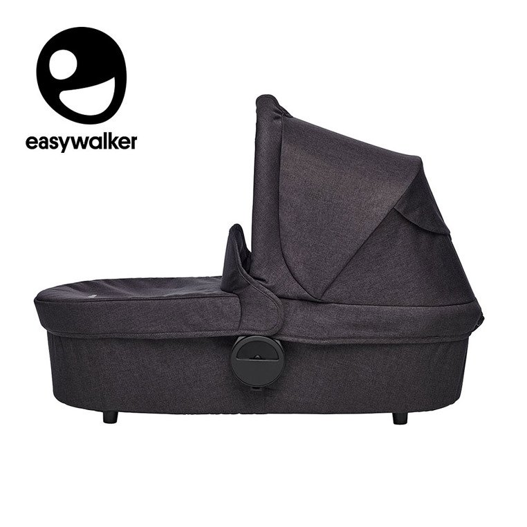Easywalker Harvey Gondola do wózka Coal Black