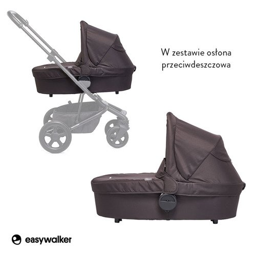 Easywalker Harvey Gondola do wózka All Black